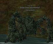 Ferocious elemental