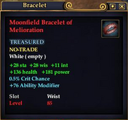 Moonfield Bracelet of Melioration