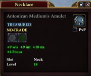Antonican Medium's Amulet