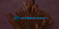 A fetidthorn horror