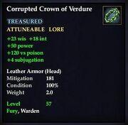 Corrupted Crown of Verdure