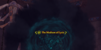 The Medium of Lysis