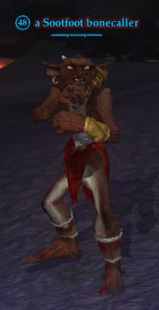 A Sootfoot bonecaller