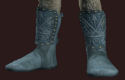 Blue Boots of the Far Seas Traders (Equipped)