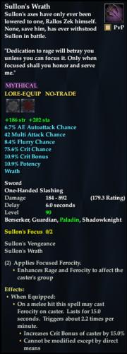 Sullon's Wrath