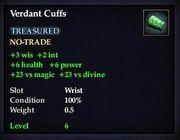 Verdant Cuffs