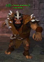 A Terrok gladiator