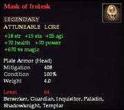 Mask of Irolesk