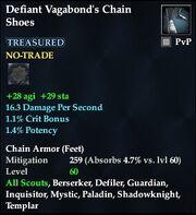 Defiant Vagabond's Chain Shoes