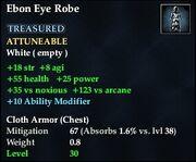 Ebon Eye Robe