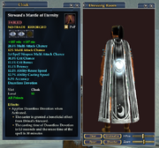 Steward's Mantle of Eternity (Equipped)