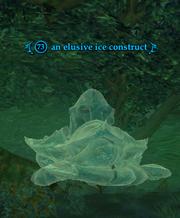 An elusive ice construct