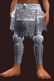 Forged Feyiron Chainmail Leggings (Equipped)