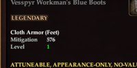 Vesspyr Workman's Blue Boots