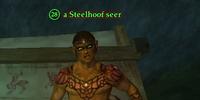 A Steelhoof seer