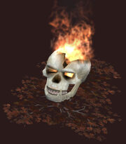 Direful-blazing-skull