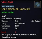 Vith's Staff