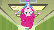 Pinkie Pie pops out of an air vent EG3
