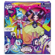 Rainbow Rocks Aria Blaze & Sonata Dusk packaging