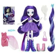 Equestria Girls Rarity fashion set