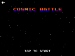 "MLPEG app Cosmic Battle mini-game ""tap to start"""