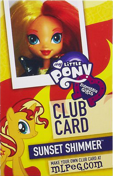 Archivo:Sunset Shimmer Equestria Girls Club card.png