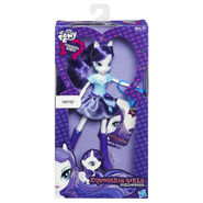 Equestria Girls Collection Rarity packaging