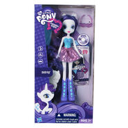 Equestria Girls Rarity standard doll packaging