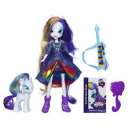 Rainbow Rocks Rarity Doll and Pony Set