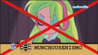 "Friendship Games Lemon Zest misspells ""Munchausenism"" - Italian"