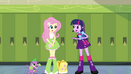 Fluttershy tells Twilight about the crown EG