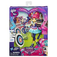 Friendship Games Sporty Style Sour Sweet doll packaging