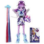 Rainbow Rocks Twilight Sparkle Rockin' Hairstyle doll