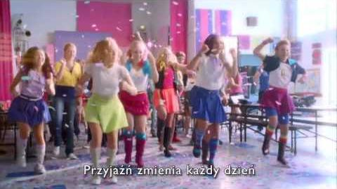 MLP EG Live action Cafeteria Song (Polish)