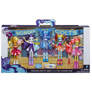 Equestria Girls Pep Rally dolls packaging