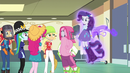 Ponied-up Rarity and her friends EG3