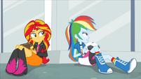"Rainbow Dash ""she's not coming"" EG2"