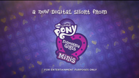 Equestria Girls Minis digital short promo EGM