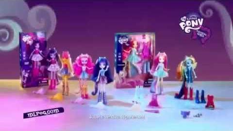 Poupée - Equestria Girls - My Little Pony - Hasbro