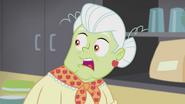 Granny Smith shocked EG2