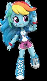 Equestria Girls Minis Rainbow Dash promo image