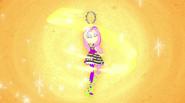 Energy swirls around Mane Event Fluttershy EG2