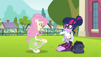 """Fluttershy """"you looked like you needed it"""" EG3"""