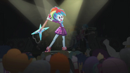 Rainbow Dash about to break her guitar EG2