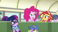 Pinkie talking about marshmallows EG4