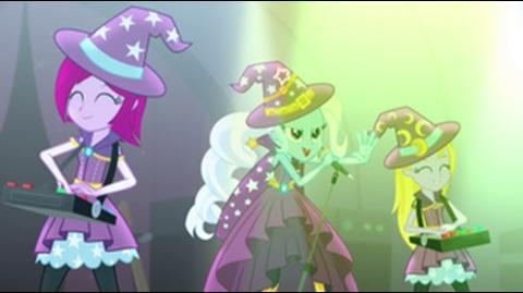 French Equestria Girls Rainbow Rocks Tricks Up My Sleeve HD