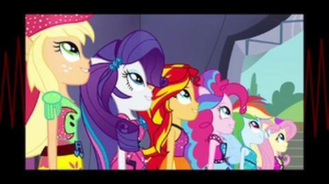 Swedish Equestria Girls Rainbow Rocks Shine Like Rainbows HD