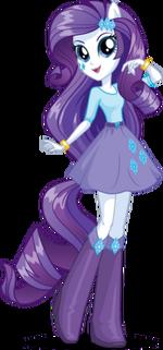 Rarity Equestria Girls bio art