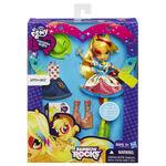 Rainbow Rocks Applejack Fashion Doll packaging