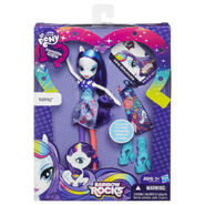 Rainbow Rocks Rarity Fashion Doll packaging